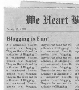 create your own newspaper clipping